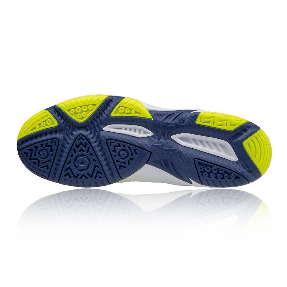 Mizuno – Hombre Break Shot Ex All Court Zapatillas De Tenis – Aw17 Tenis Blanco/Azul