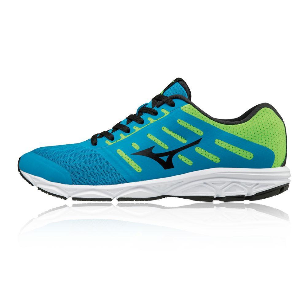 Mizuno – Hombre Ezrun Zapatillas De Running  – Ss18 Correr Verde/Azul