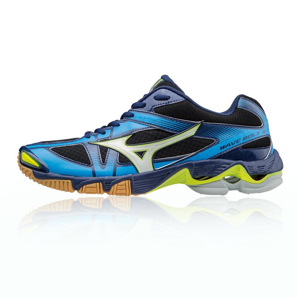 Mizuno – Hombre Wave Bolt 6 Zapatillas Para Canchas Interiores  – Ss18 BALON MANO Azul