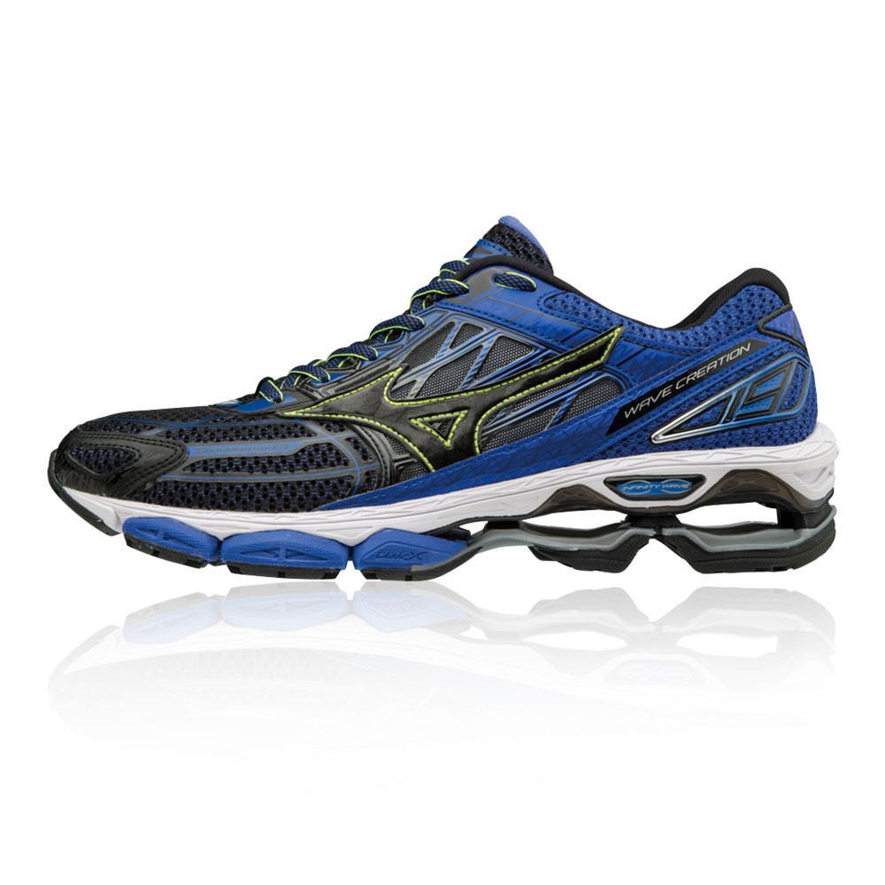 Mizuno – Hombre Wave Creation 19 Zapatillas De Running  – Ss18 Correr Azul