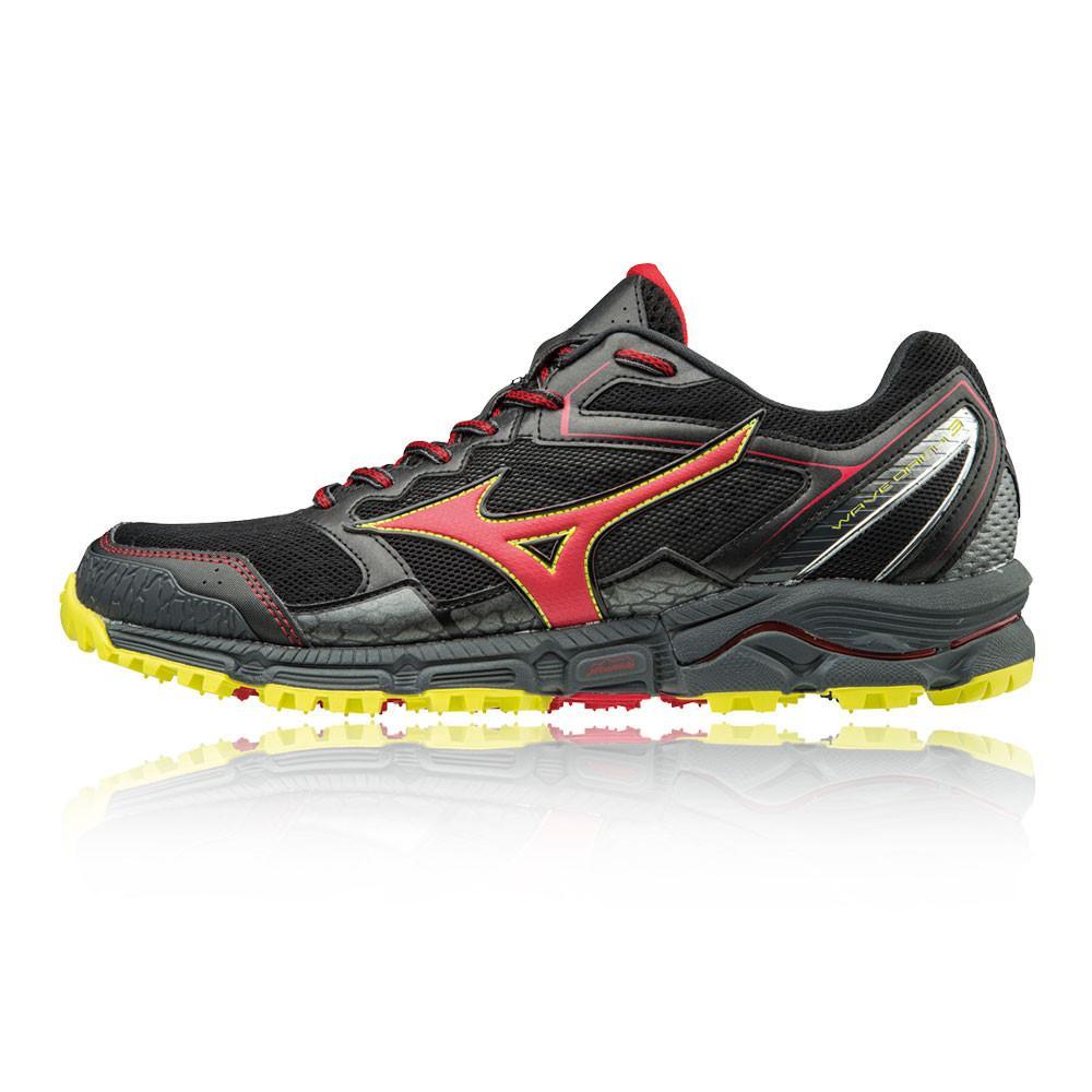Mizuno – Hombre Wave Daichi 3 Trail Zapatillas De Running  – Ss18 Correr Negro