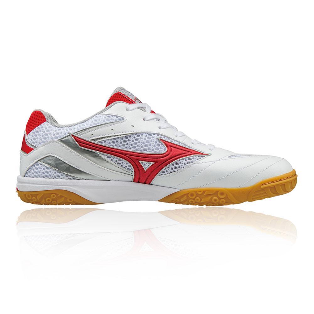 Mizuno – Hombre Wave Drive 8 Table Zapatillas De Tenis – Ss18 Tenis Blanco/Rojo