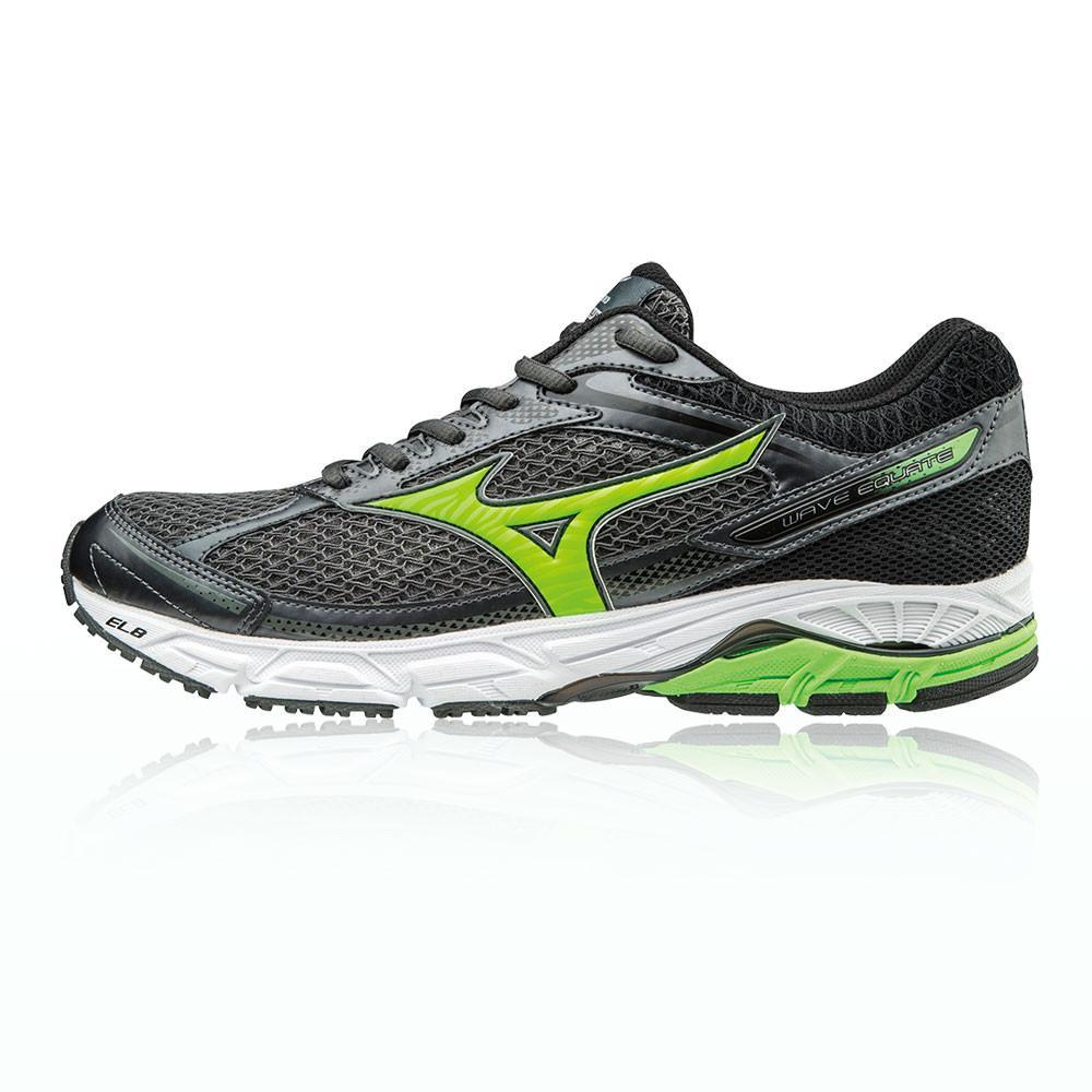 Mizuno – Hombre Wave Equate Zapatillas De Running  – Aw17 Correr Gris/Verde/Negro