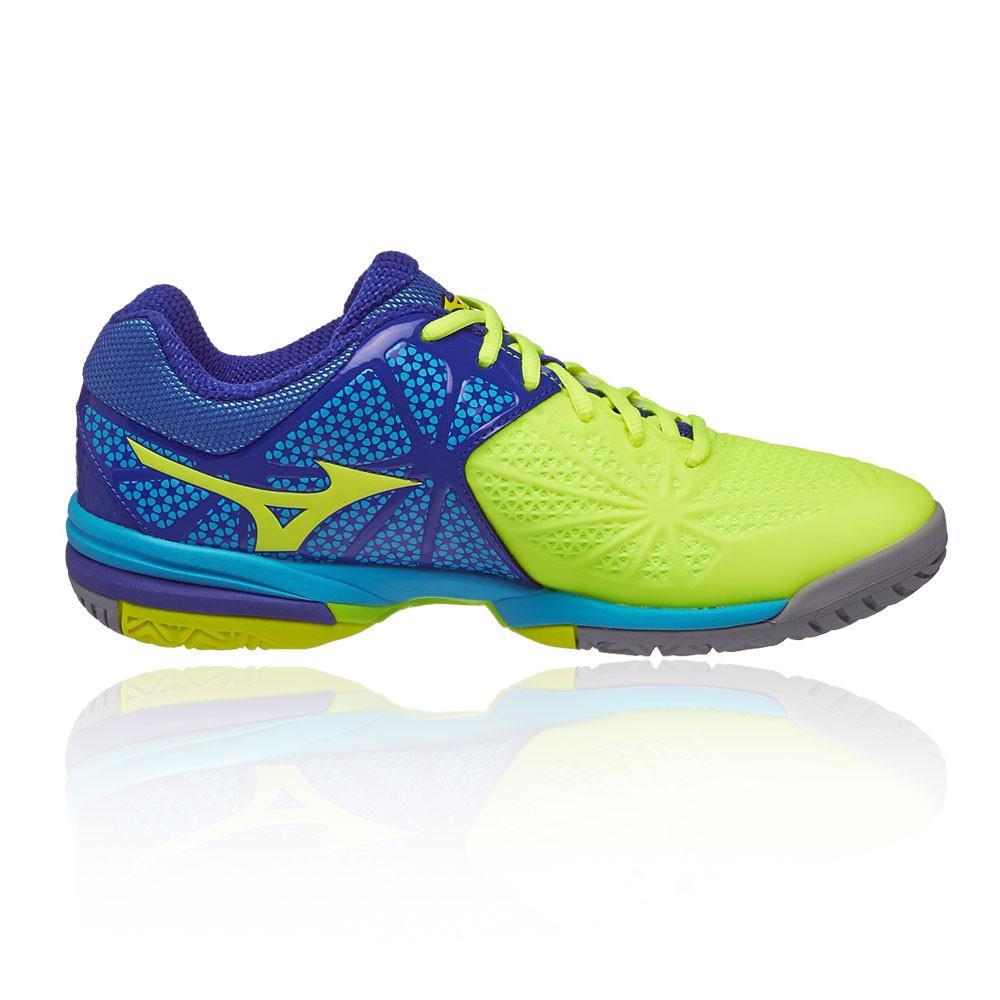 Mizuno – Hombre Wave Exceed Tour 2 All Court Zapatillas De Tenis – Ss17 Tenis Amarillo/Azul