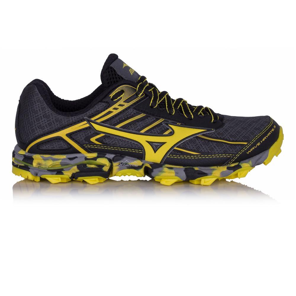 Mizuno – Hombre Wave Hayate 3 Trail Zapatillas De Running  – Aw17 Correr Amarillo/Gris/Negro