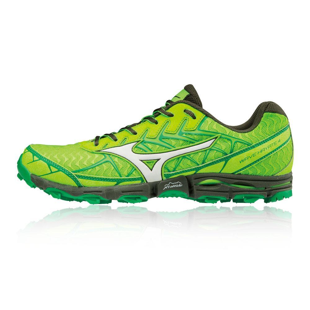 Mizuno – Hombre Wave Hayate 4 Trail Zapatillas De Running  – Ss18 Correr Verde