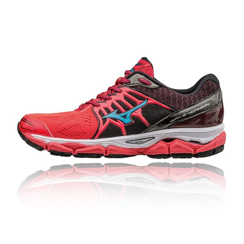 Mizuno – Hombre Wave Horizon Para Mujer Zapatillas De Running  – Ss17 Correr Rosa