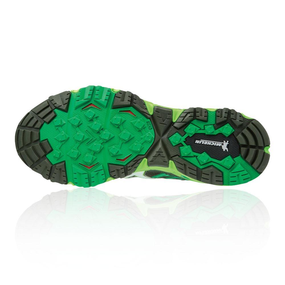 Mizuno – Hombre Wave Mujin 4 Trail Zapatillas De Running  – Ss18 Correr Verde