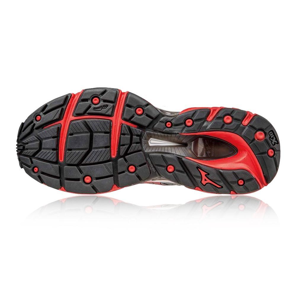 Mizuno – Hombre Wave Paradox 3 Zapatillas De Running Correr Rojo/Negro/Plateado