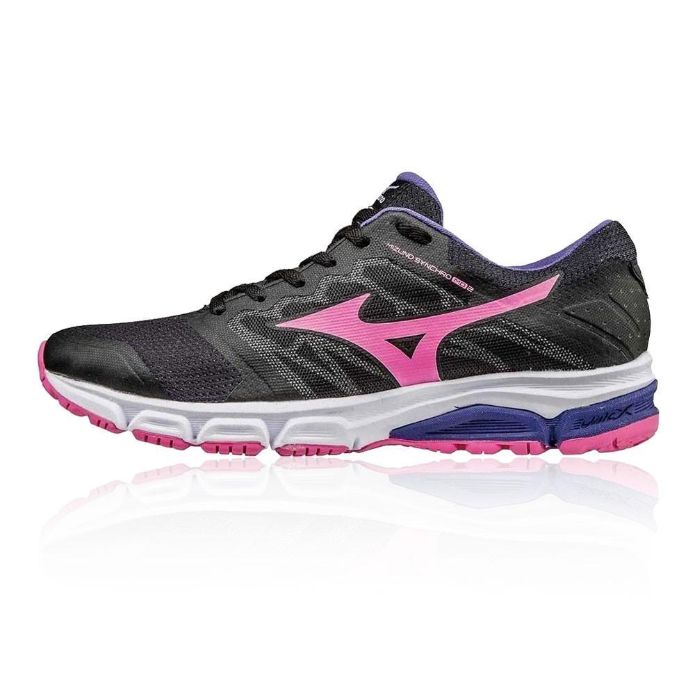 Mizuno – Mujer Synchro Md 2 Para Mujer Zapatillas De Running Correr Rosa/Negro