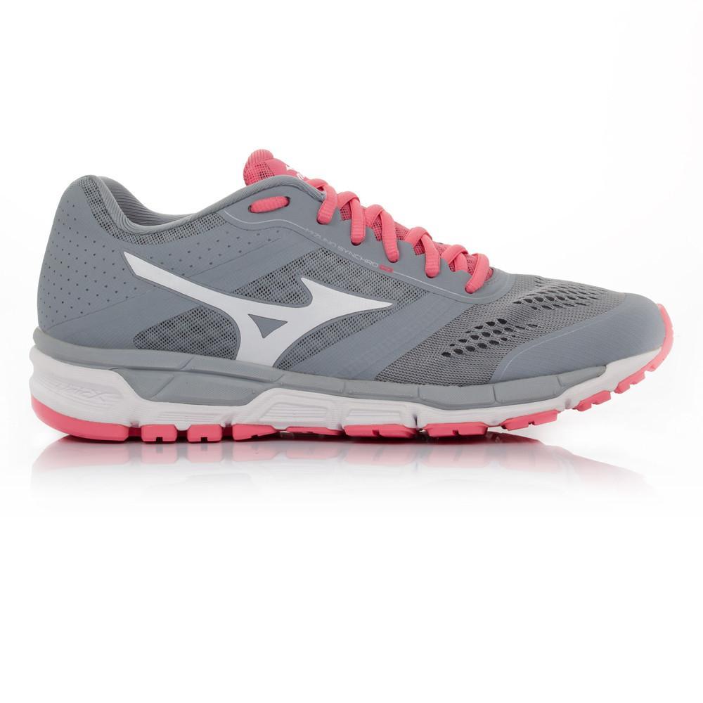 Mizuno – Mujer Synchro Mx Para Mujer Zapatillas De Running Correr Rosa/Gris