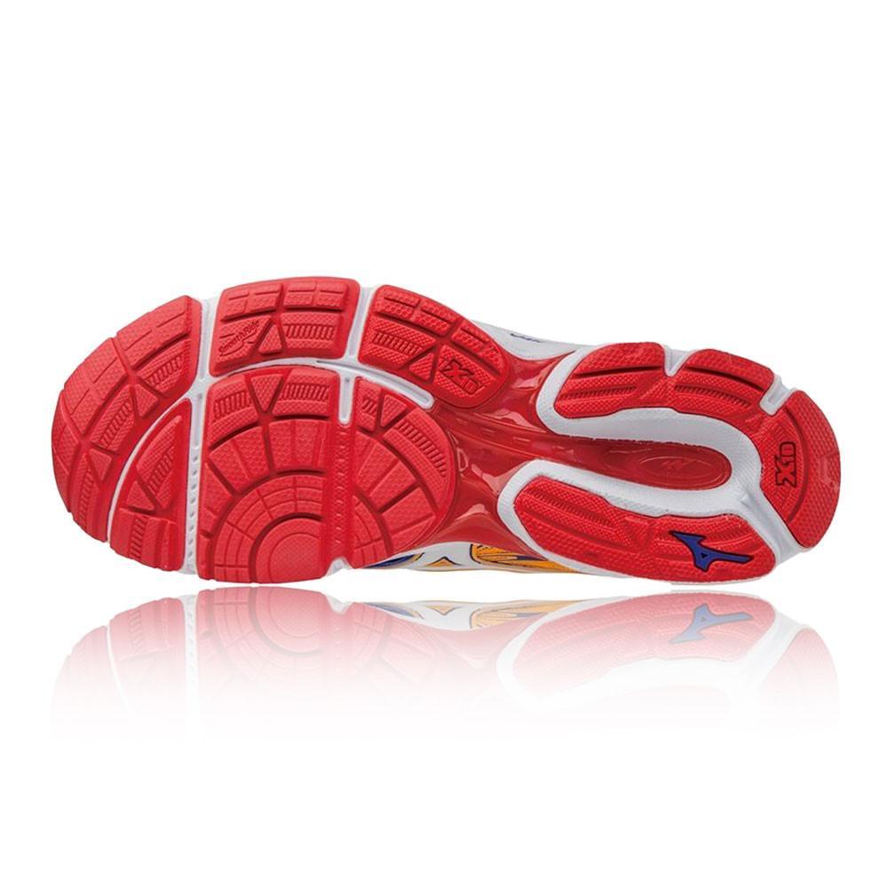Mizuno – Mujer Wave Catalyst 2 Para Mujer Zapatillas De Running  – Ss17 Correr Blanco/Naranja/Morado