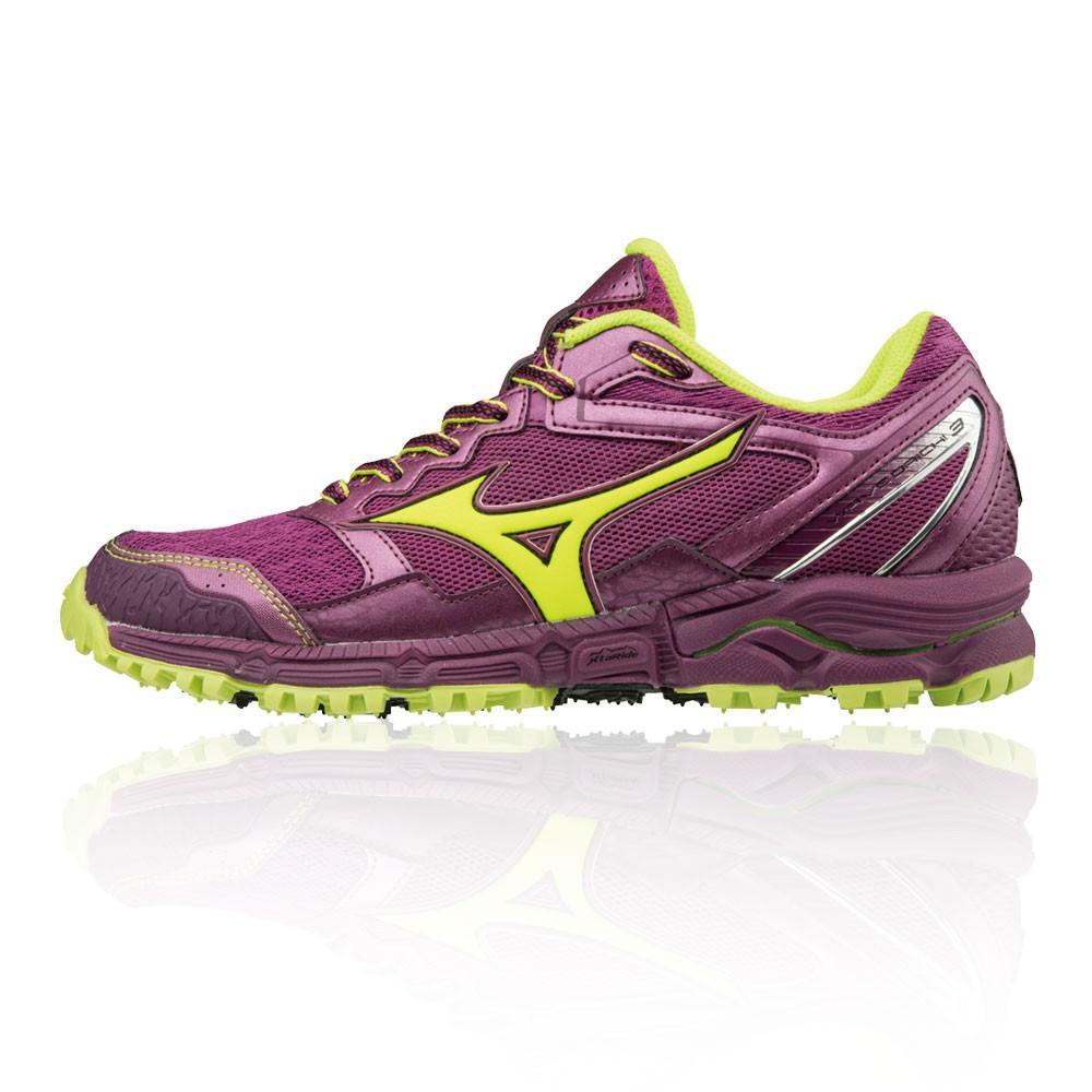 Mizuno – Mujer Wave Daichi 3 Para Mujer Trail Zapatillas De Running  – Ss18 Correr Morado