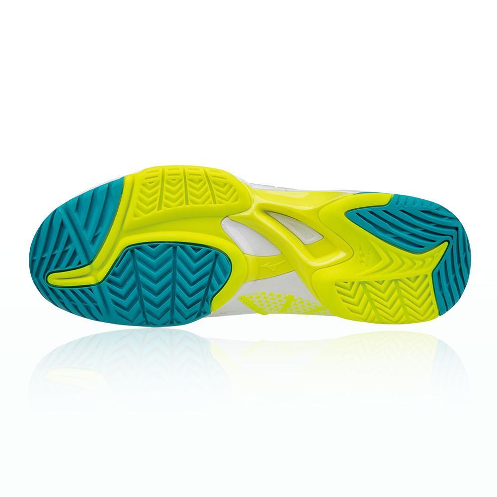 Mizuno – Mujer Wave Exceed Tour 2 All Court Para Mujer Zapatillas De Tenis – Aw17 Tenis Blanco/Amarillo