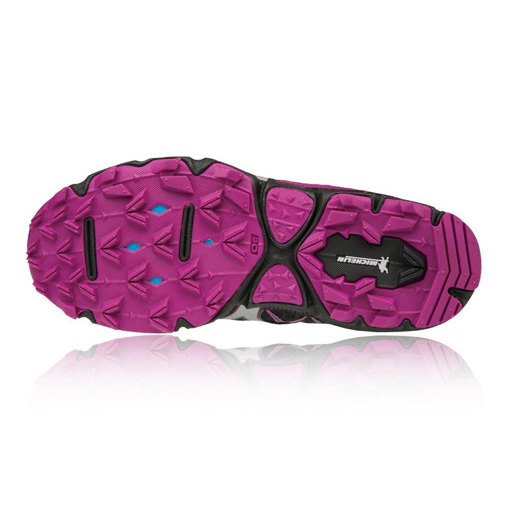 Mizuno – Mujer Wave Hayate 4 Para Mujer Trail Zapatillas De Running  – Ss18 Correr Morado/Negro