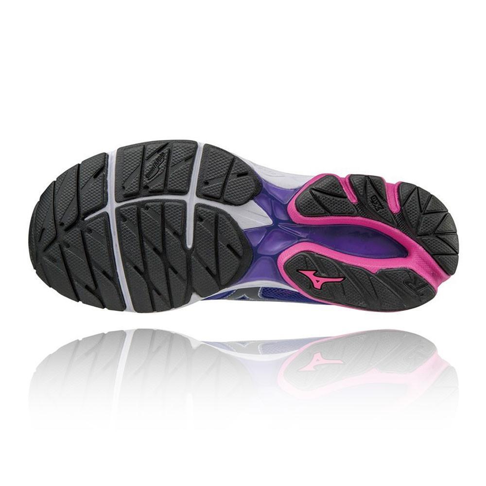 Mizuno – Mujer Wave Rider 20 Para Mujer Zapatillas De Running  – Ss17 Correr Morado