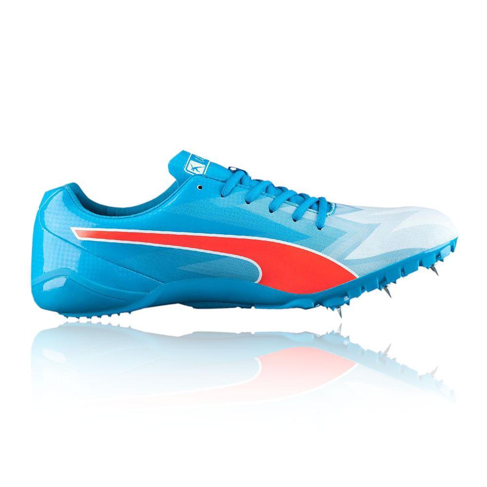 Puma – Hombre Bolt Evospeed Electric V3 Zapatillas De Running Con Clavos Correr Azul