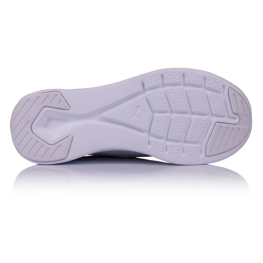 Puma – Mujer Ignite Flash Evoknit Para Mujer Zapatillas De Running  – Ss18 Correr Blanco/Gris