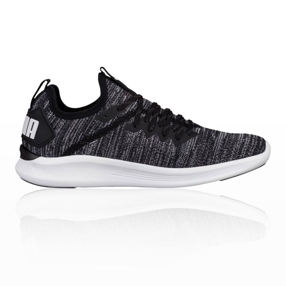 Puma – Mujer Ignite Flash Evoknit Para Mujer Zapatillas De Running  – Ss18 Correr Blanco/Negro