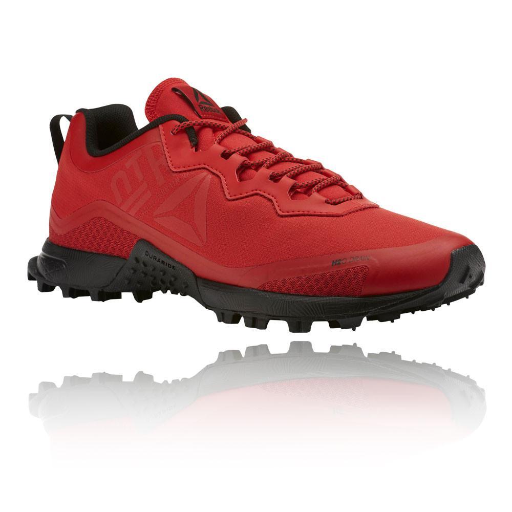 Reebok – Hombre All Terrain Craze Trail Zapatillas De Running  – Ss18 Correr Rojo