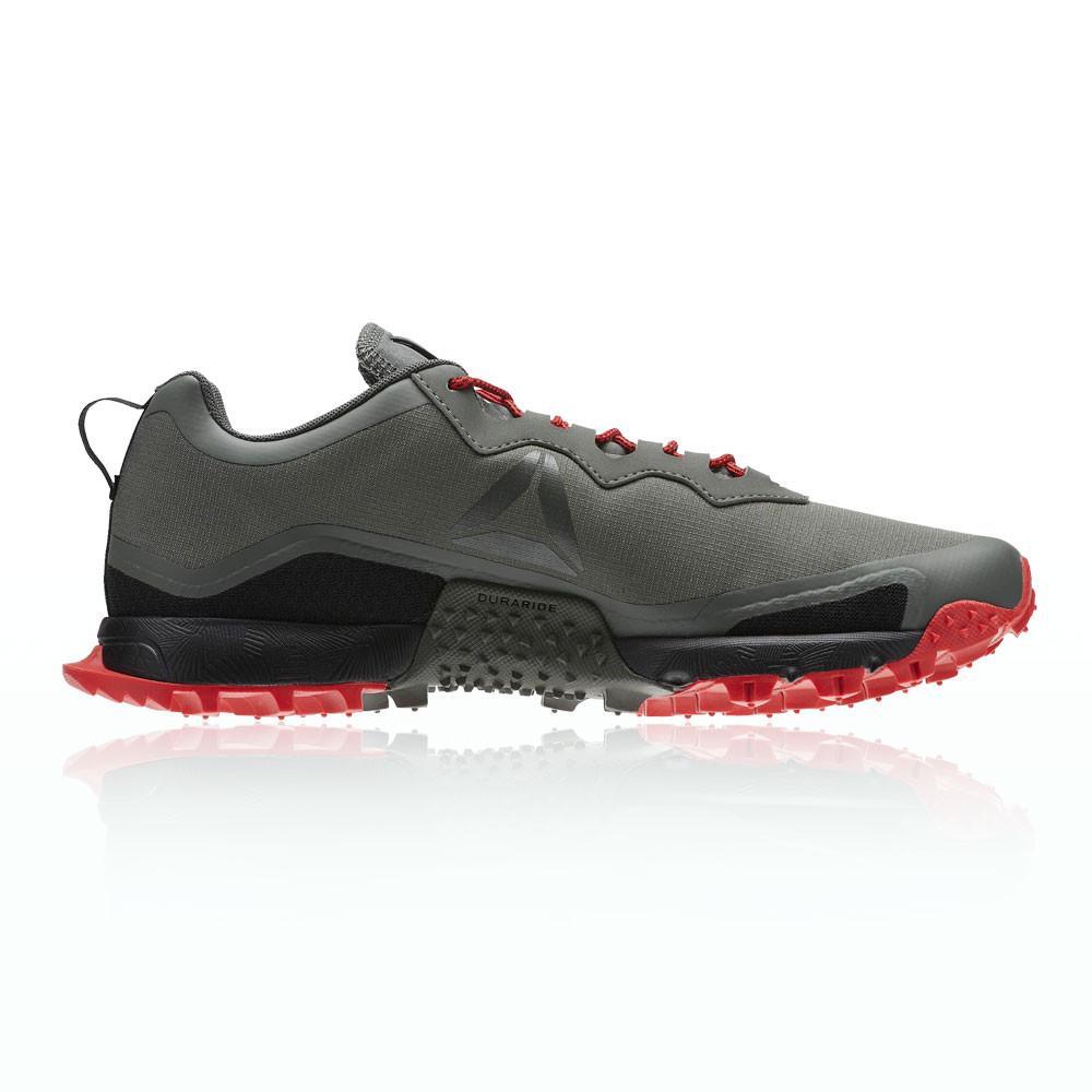 Reebok – Hombre All Terrain Craze Trail Zapatillas De Running  – Ss18 Correr Rojo/Gris/Negro