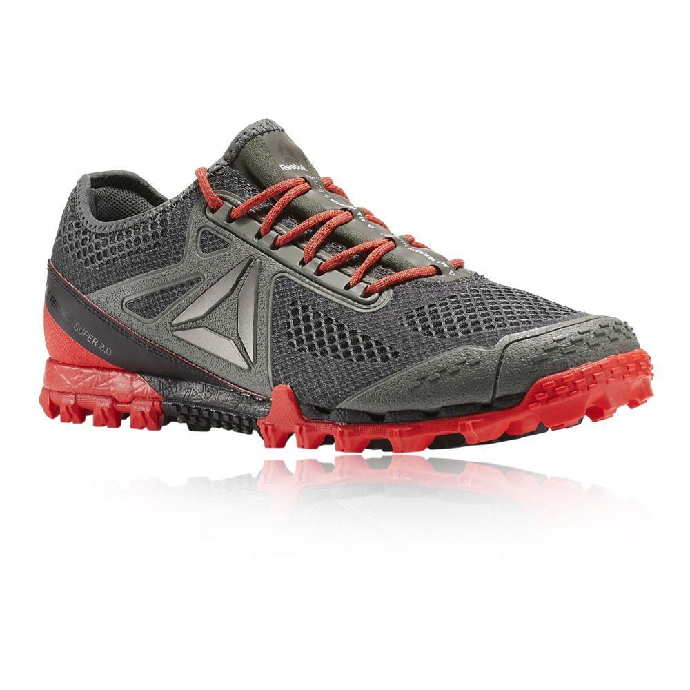 Reebok – Hombre All Terrain Super 3.0 Trail Zapatillas De Running  – Aw17 Correr Rojo/Gris