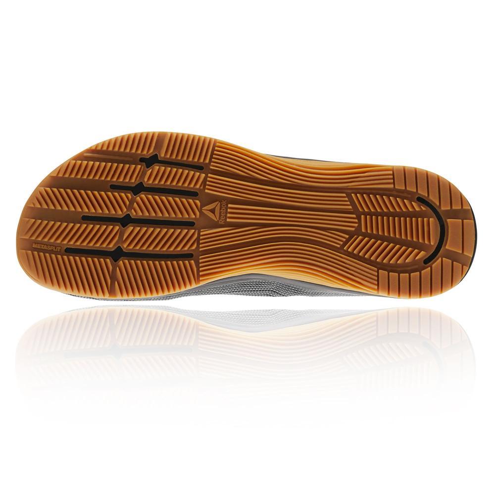 Reebok – Hombre Crossfit Nano 8.0 Flexweave Zapatillas – Ss18 Gimnasio Negro