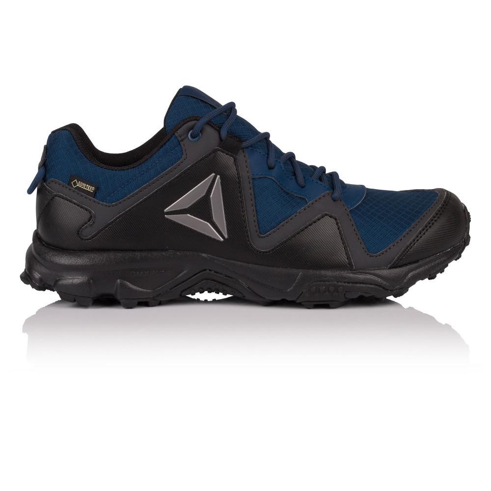 Reebok – Hombre Franconia Ridge 3.0 Gore-Tex Zapatillas De Trekking – Ss18 Aire libre Negro/Azul Marino
