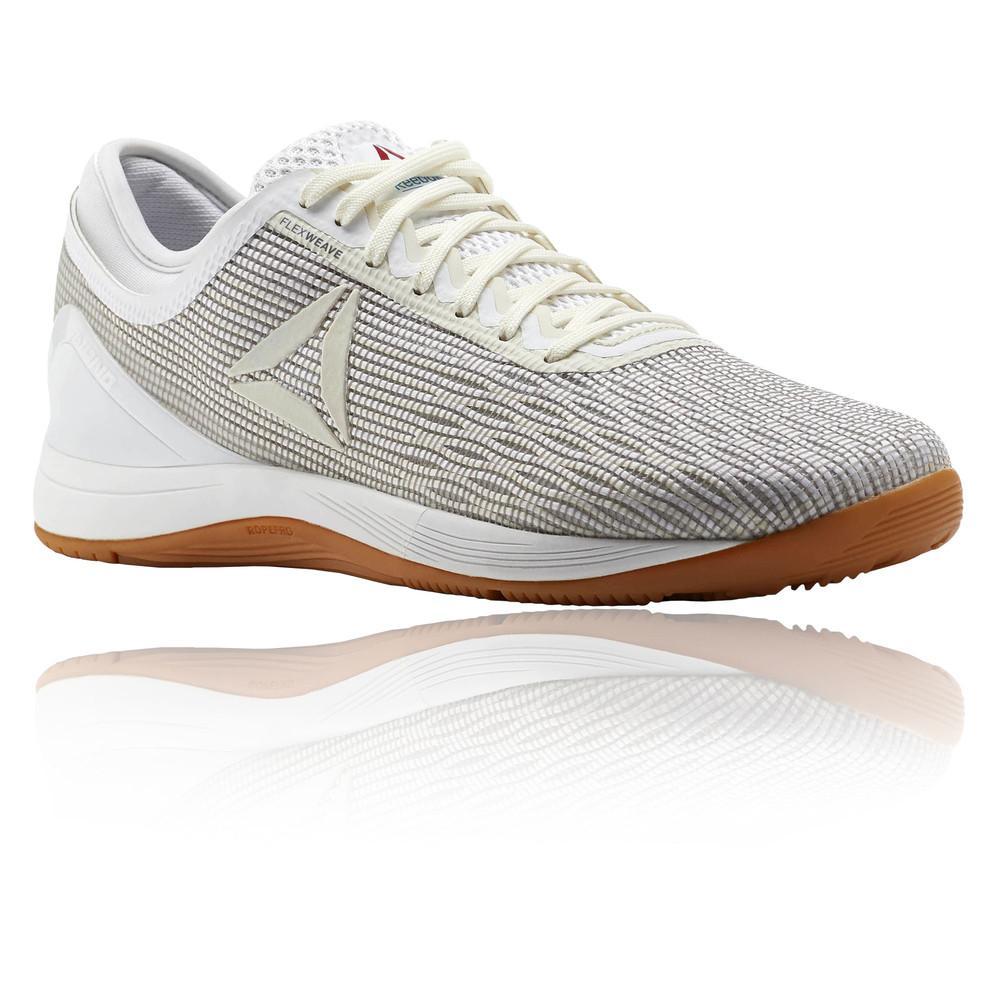 Reebok – Mujer Crossfit Nano 8.0 Flexweave Para Mujer Zapatillas – Ss18 Gimnasio Blanco