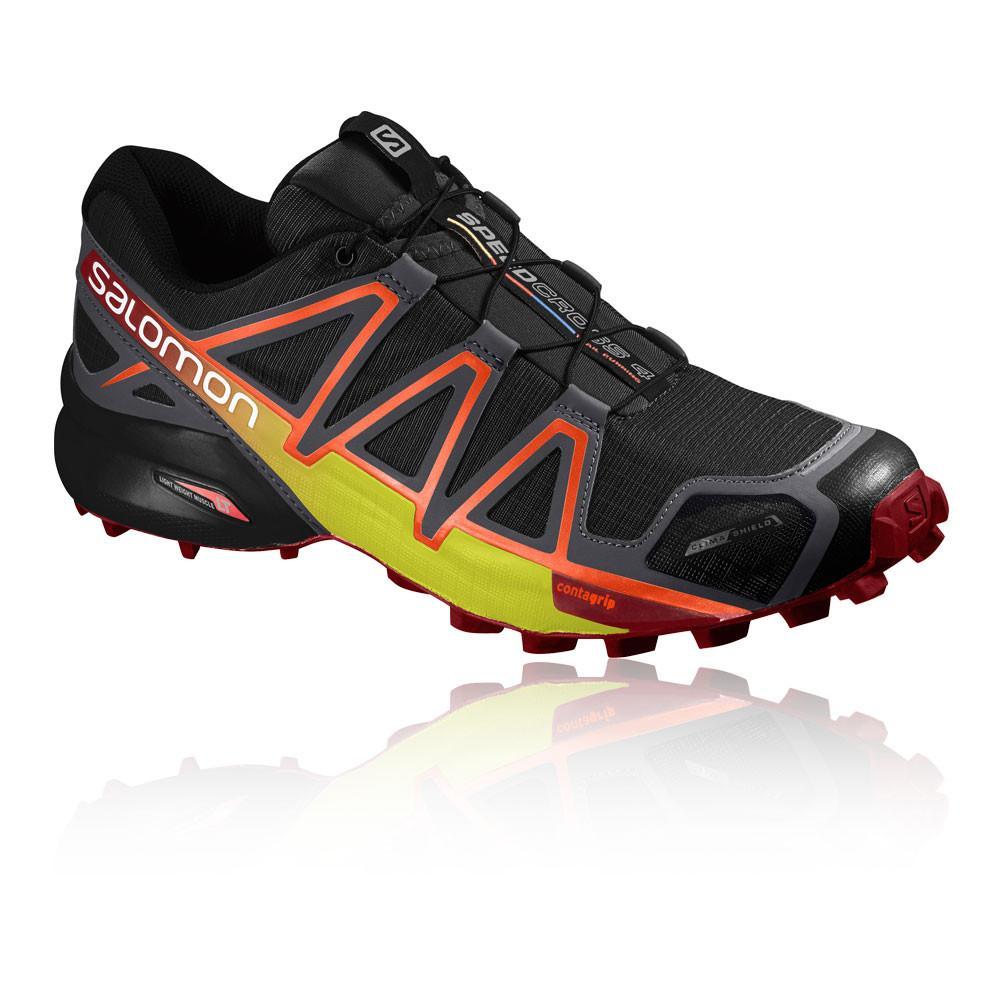 Salomon – Hombre Speedcross 4 Cs Trail Zapatillas De Running  – Aw17 Correr Negro