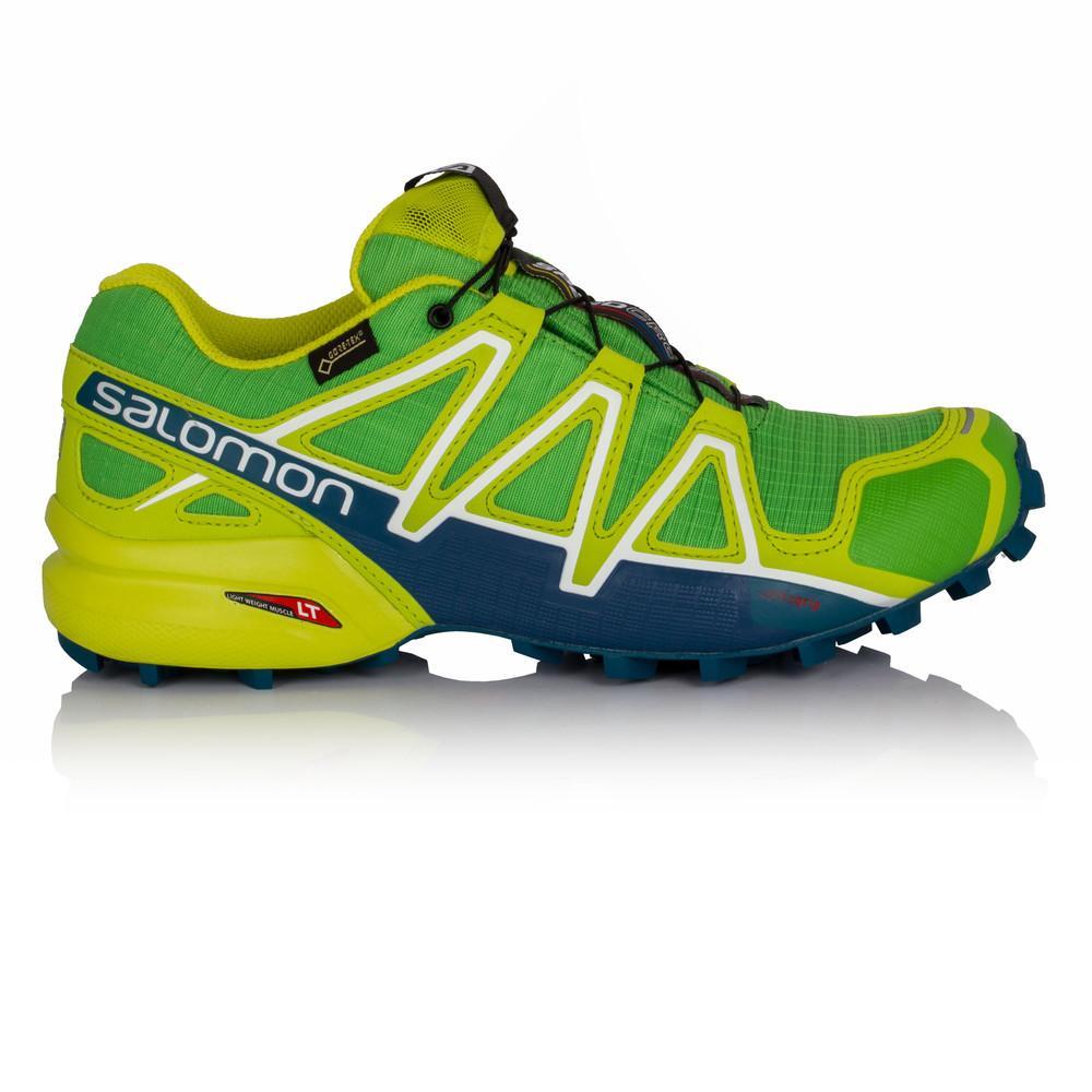 Salomon – Hombre Speedcross 4 Gore-Tex Trail Zapatillas De Running Correr Verde