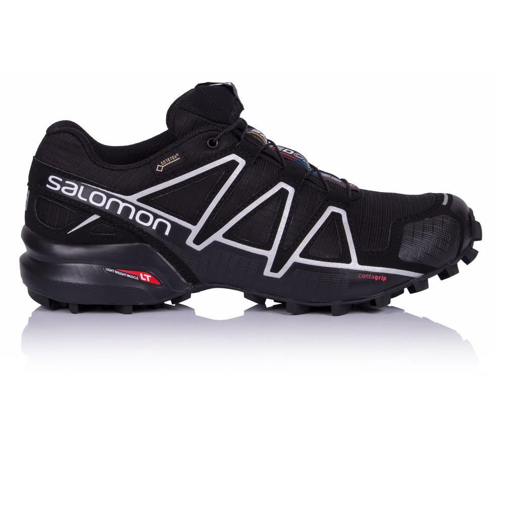 Salomon – Hombre Speedcross 4 Gore-Tex Trail Zapatillas De Running  – Ss18 Correr Negro