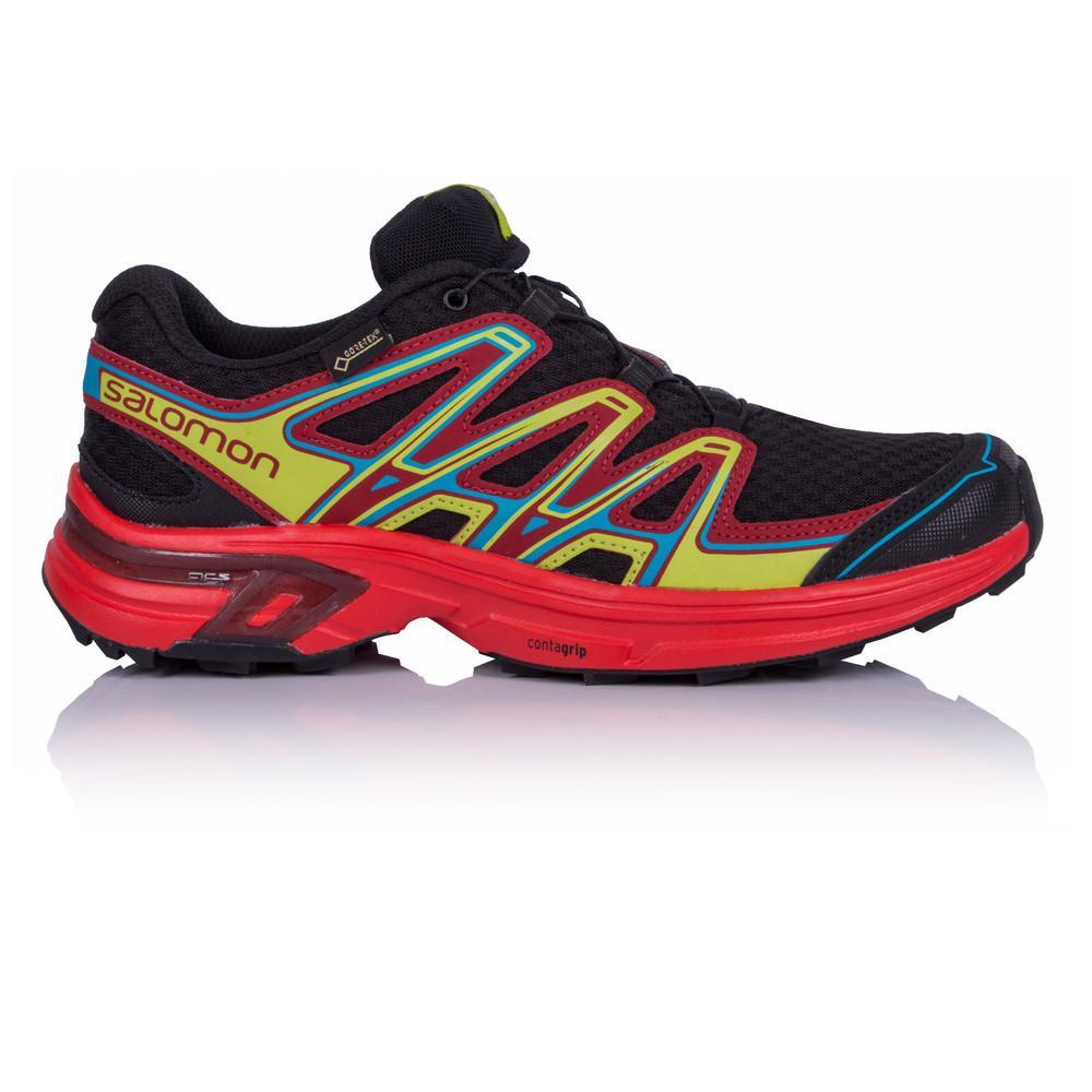 Salomon – Hombre Wings Flyte 2 Gore-Tex Trail Zapatillas De Running  – Ss18 Correr Rojo/Negro