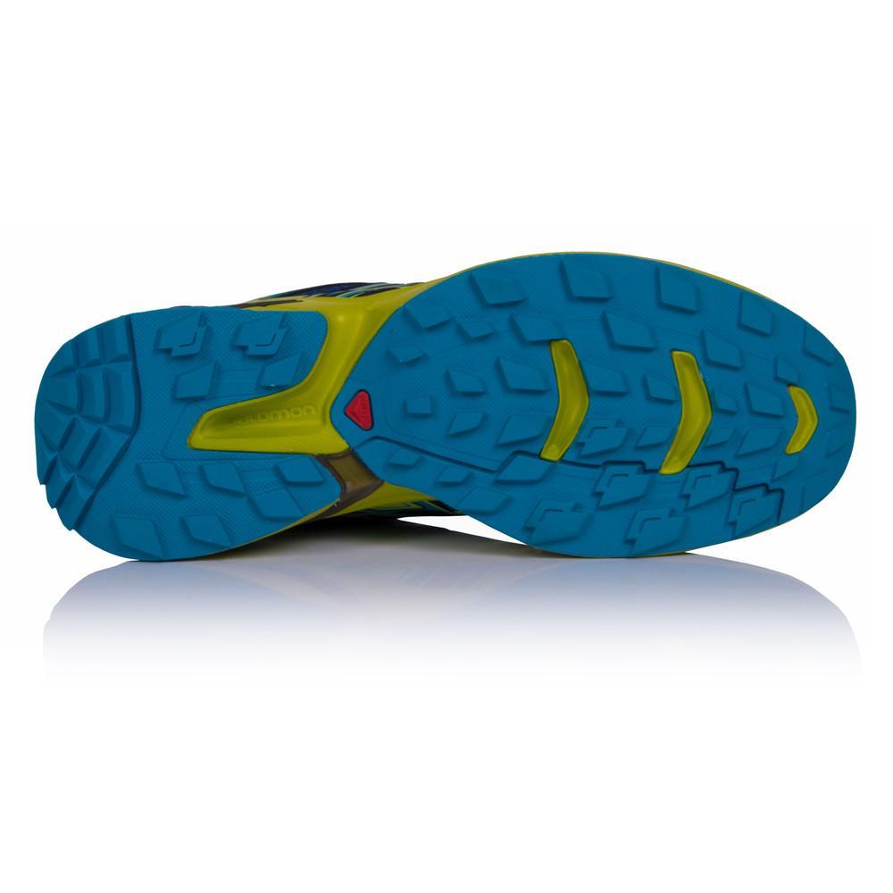 Salomon – Hombre Wings Flyte Trail Zapatillas De Running  – Ss18 Correr Azul Marino