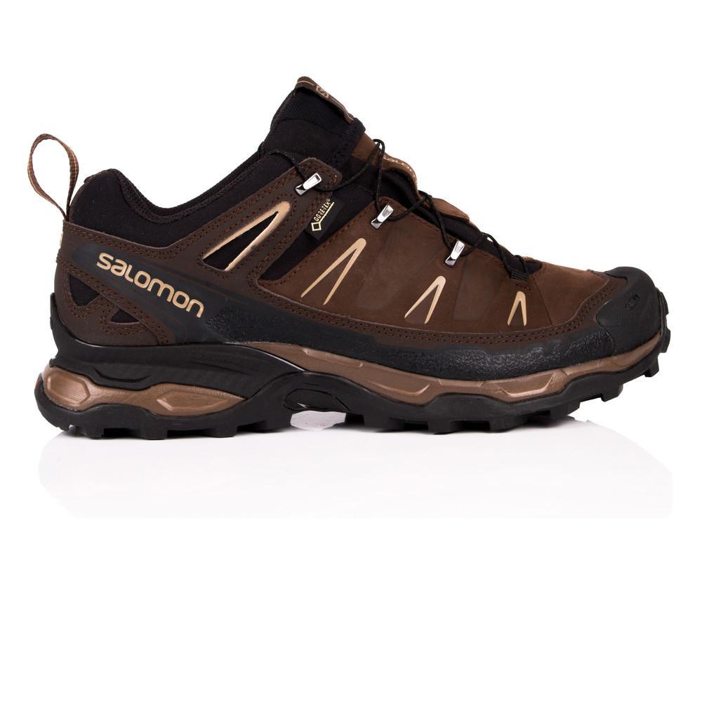 Salomon – Hombre X Ultra Ltr Gore-Tex Trail Zapatillas De Trekking – Ss18 Aire libre Marrón