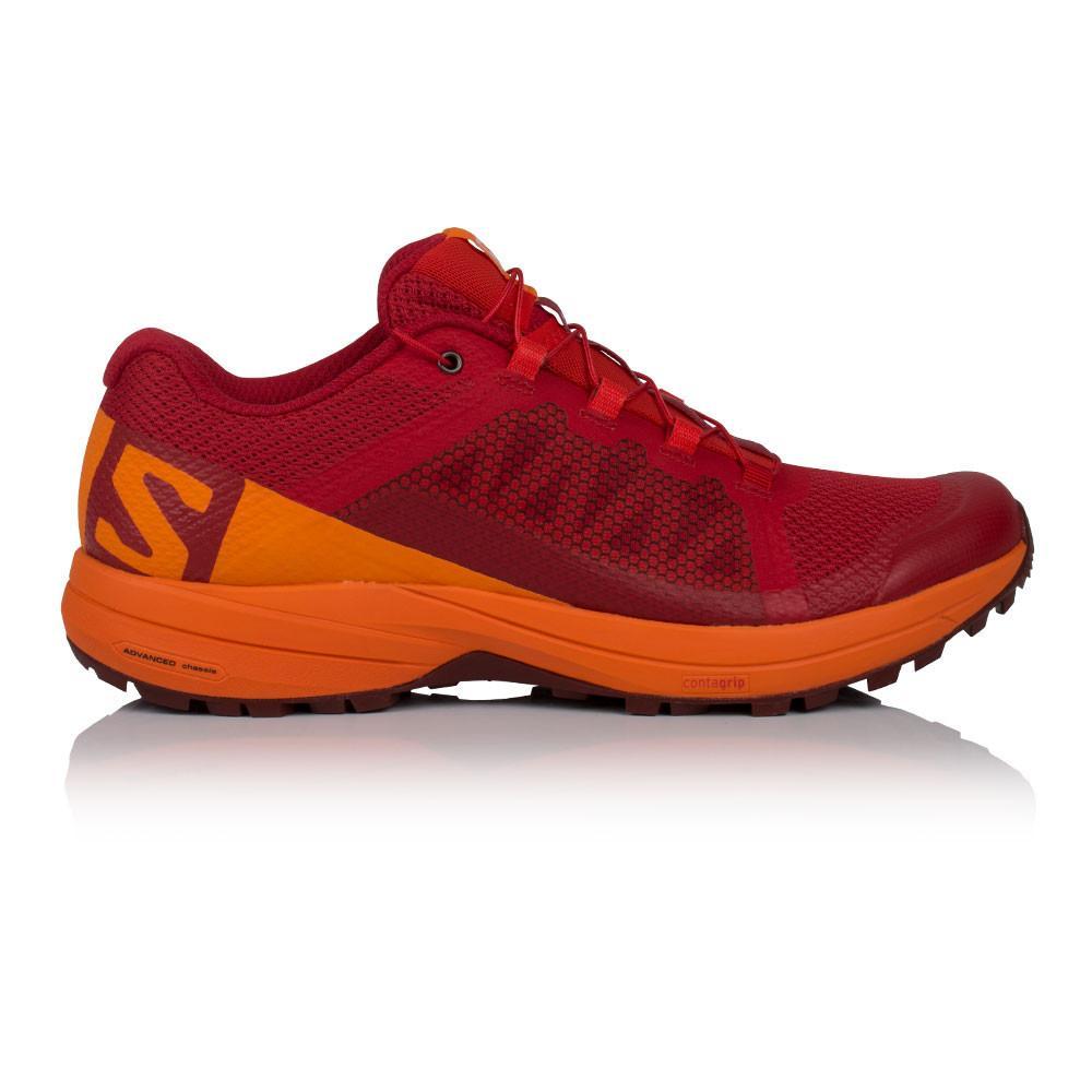 Salomon – Hombre Xa Elevate Zapatillas De Running  – Ss18 Correr Rojo/Naranja