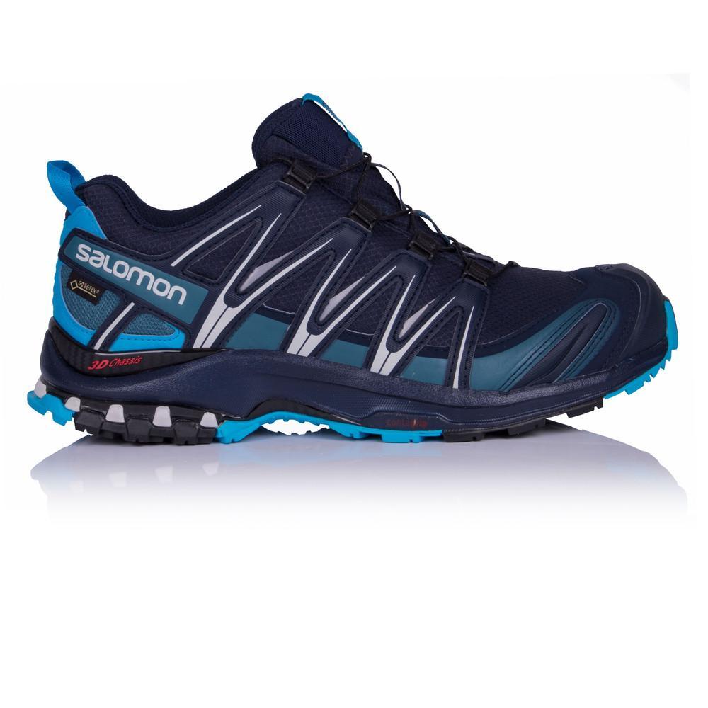 Salomon – Hombre Xa Pro 3D Gore-Tex Trail Zapatillas De Running  – Ss18 Correr Azul Marino