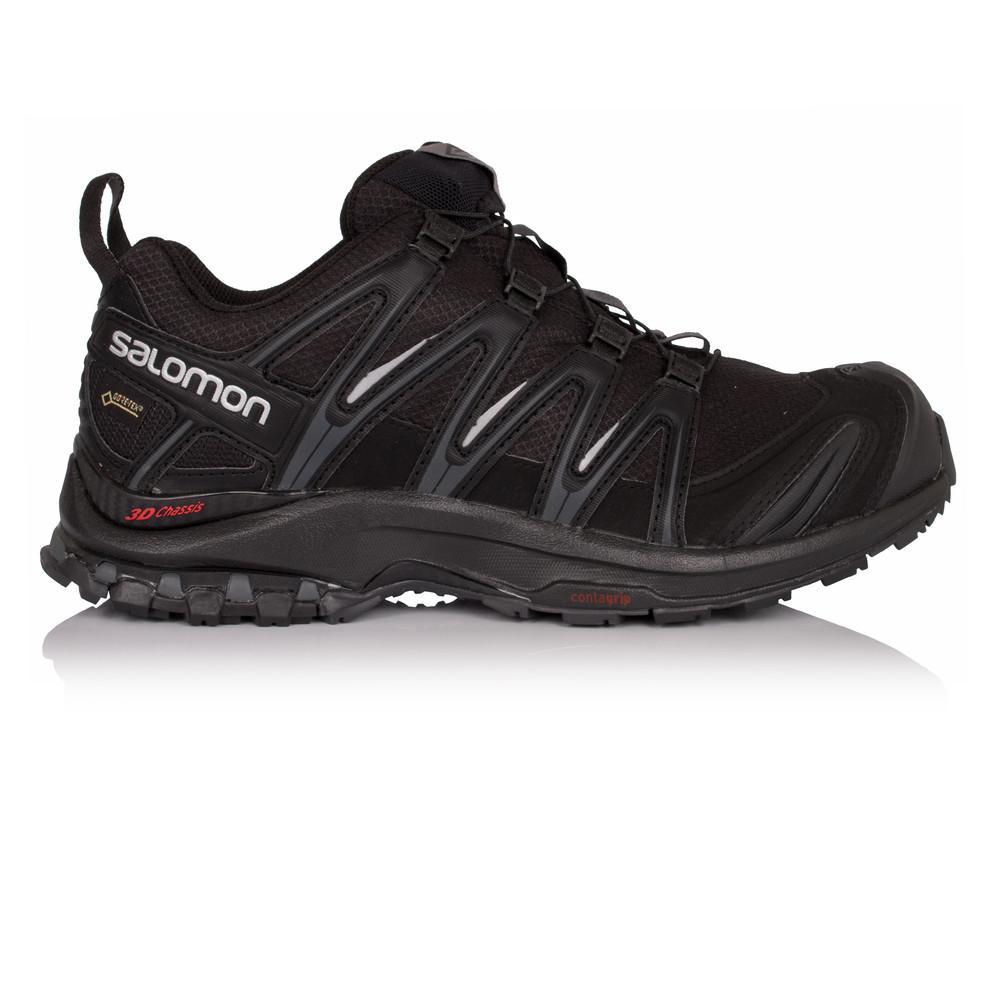 Salomon – Hombre Xa Pro 3D Gore-Tex Trail Zapatillas De Running  – Ss18 Correr Negro