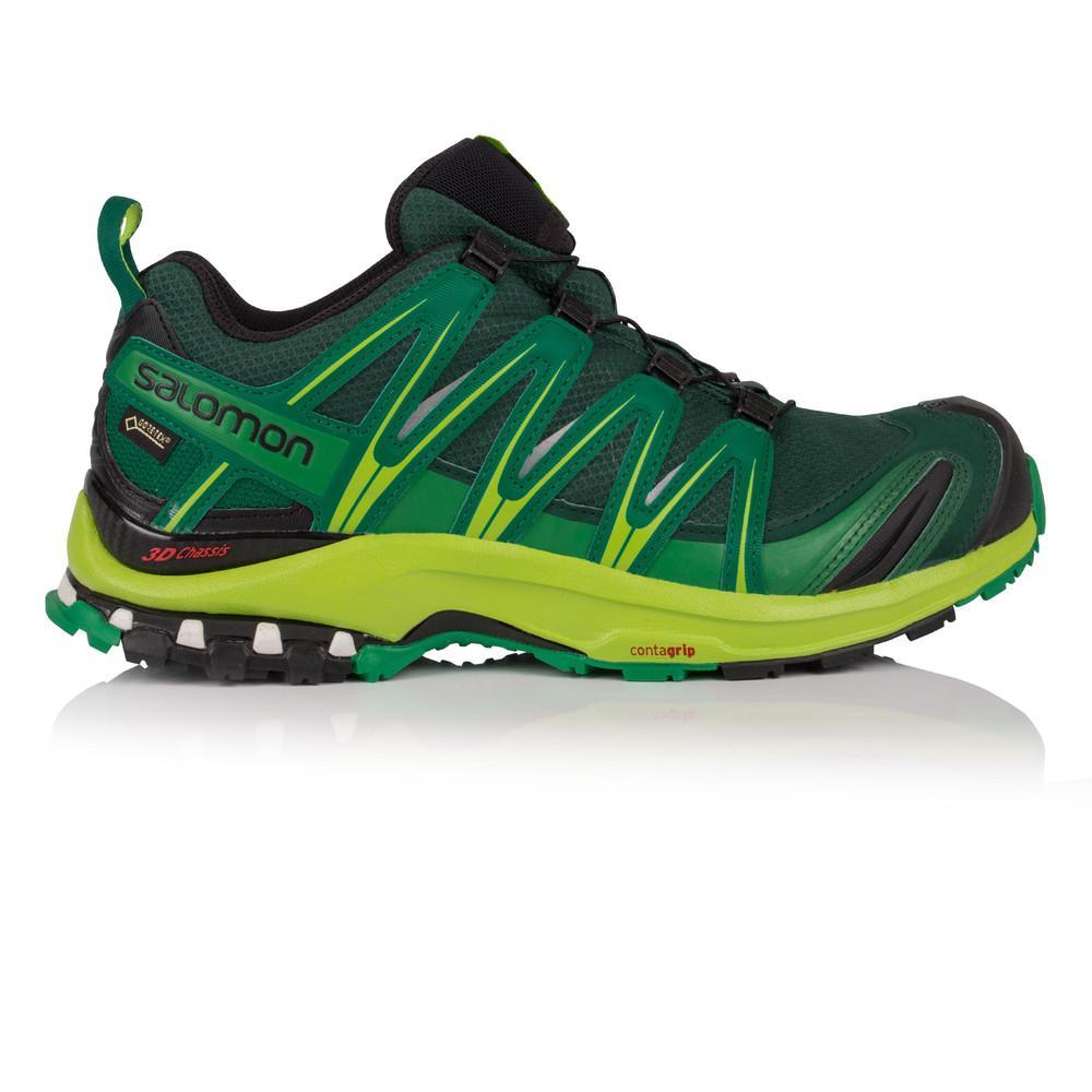 Salomon – Hombre Xa Pro 3D Gore-Tex Trail Zapatillas De Running  – Ss18 Correr Verde