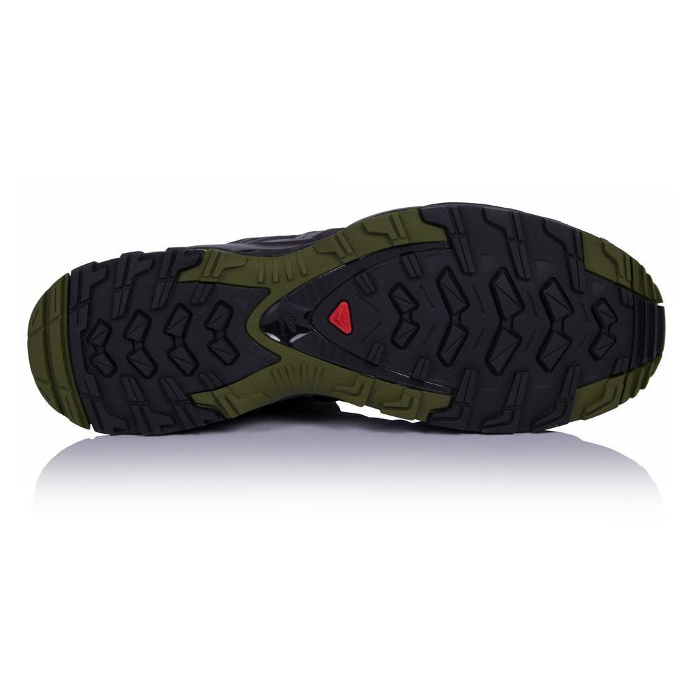 Salomon – Hombre Xa Pro 3D Trail Zapatillas De Running  – Ss18 Aire libre Verde/Negro