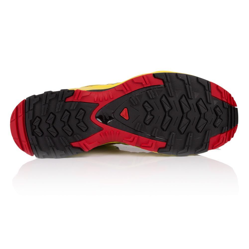 Salomon – Hombre Xa Pro 3D Trail Zapatillas De Running  – Ss18 Correr Amarillo