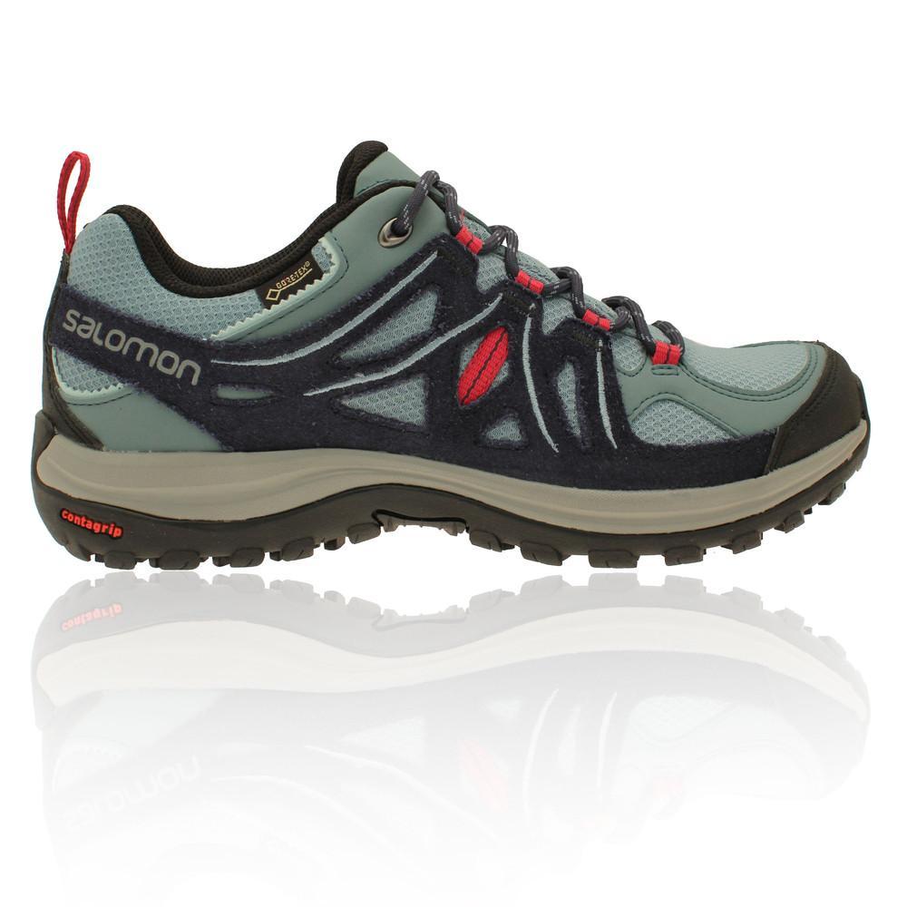 Salomon – Mujer Ellipse 2 Gore-Tex Para Mujer Zapatillas De Trekking – Aw17 Aire libre Azul