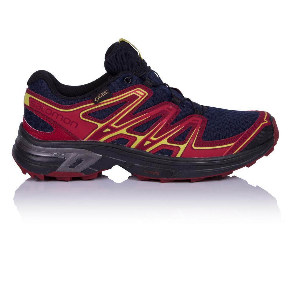 Salomon – Mujer Wings Flyte 2 Gore-Tex Para Mujer Trail Zapatillas De Running  – Ss18 Correr Rosa/Morado
