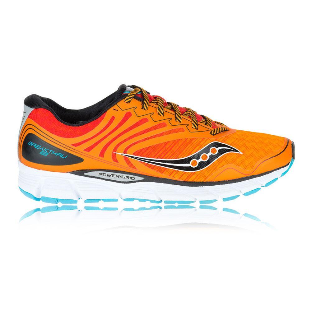 Saucony – Hombre Breakthru 2 Zapatillas De Running Correr Naranja