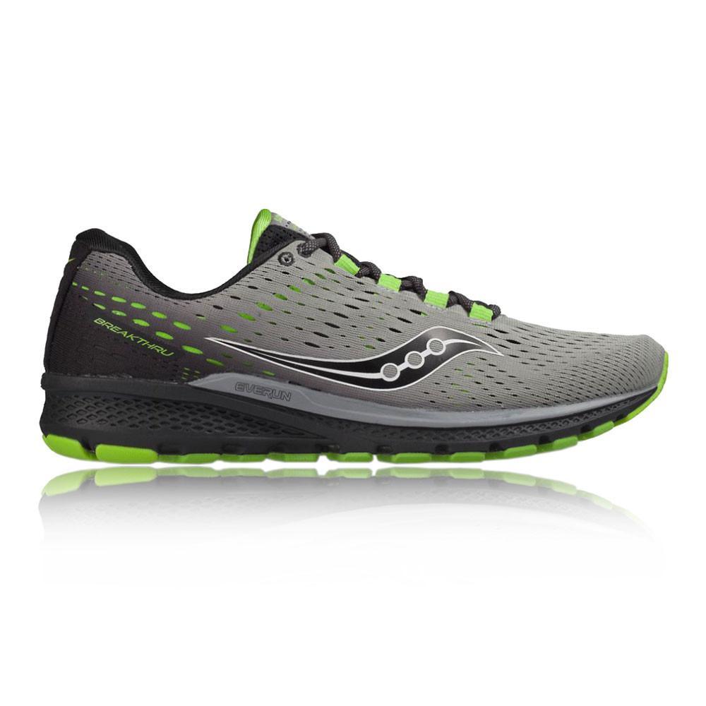 Saucony – Hombre Breakthru 3 Zapatillas De Running  – Ss17 Correr Gris
