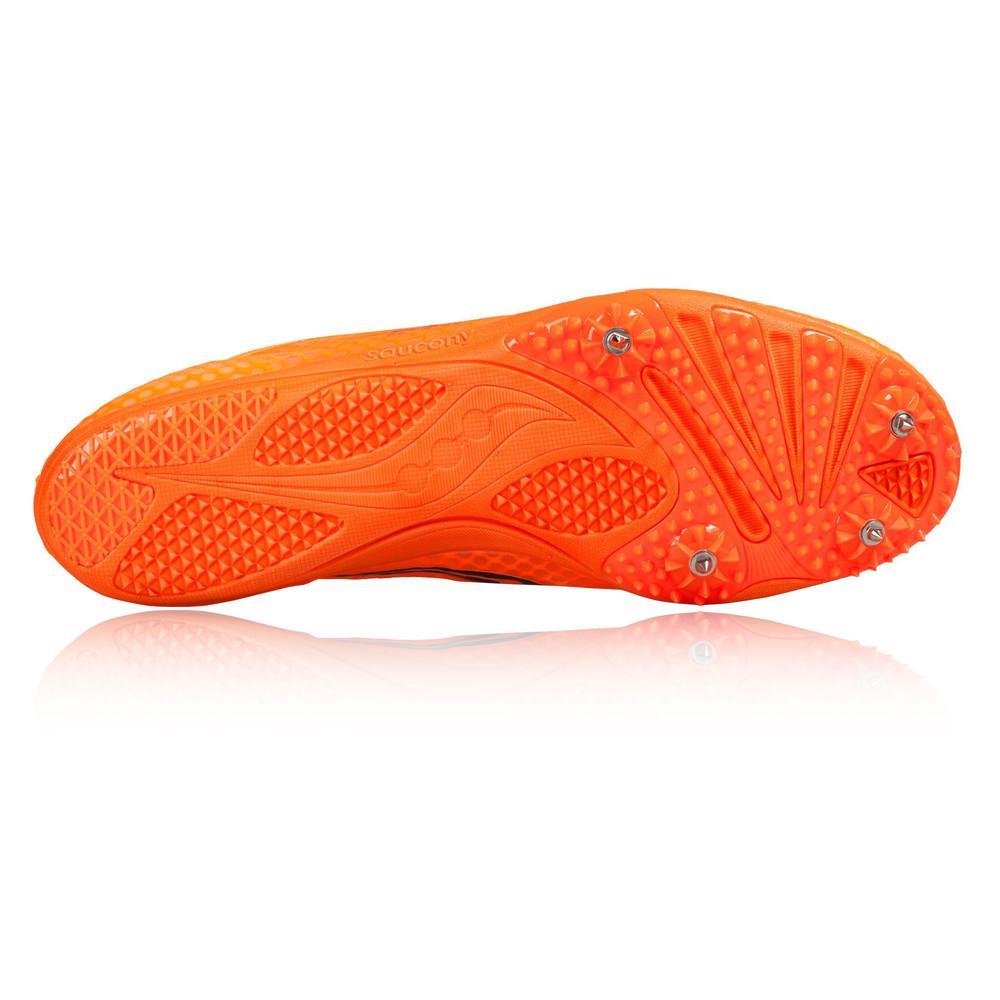 Saucony – Hombre Endorphin Zapatillas De Running Con Clavos – Ss18 Correr Naranja