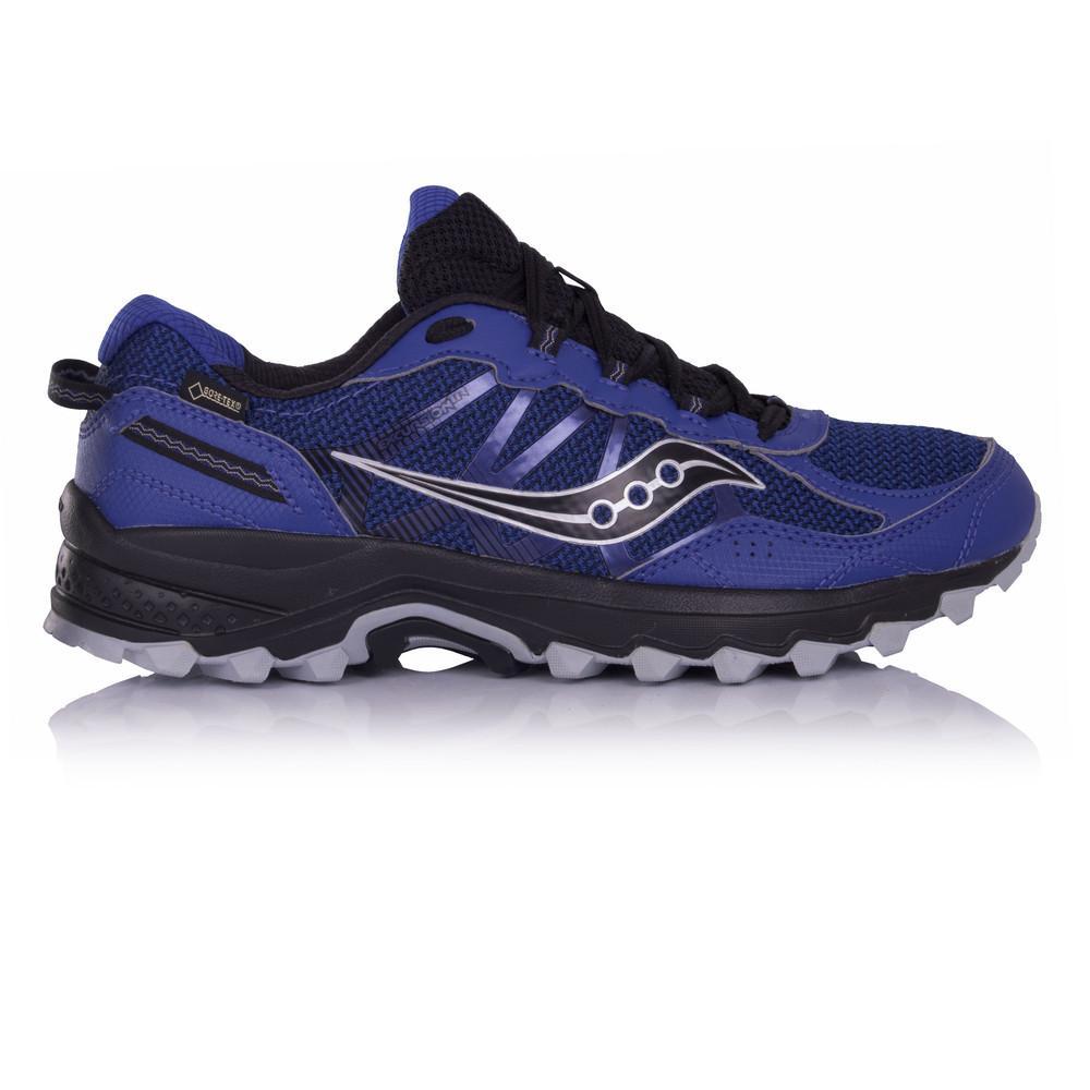 Saucony – Hombre Excursion Tr11 Gore-Tex Trail Zapatillas De Running  – Ss18 Correr Gris/Azul