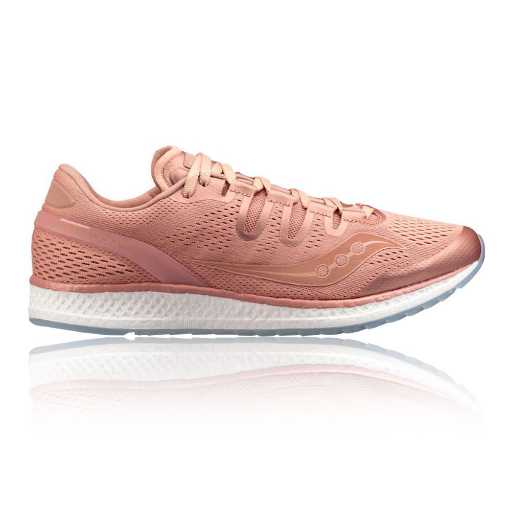 Saucony – Hombre Freedom Iso Zapatillas De Running  – Aw17 Correr Rosa