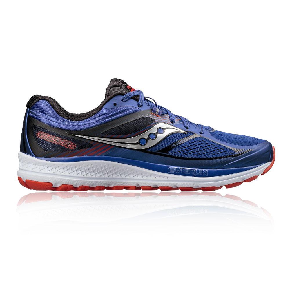 Saucony – Hombre Guide 10 Zapatillas De Running  – Aw17 Correr Naranja/Azul