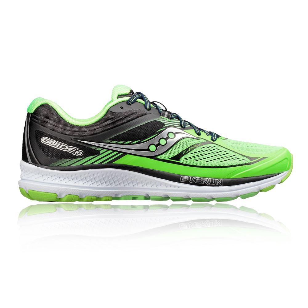 Saucony – Hombre Guide 10 Zapatillas De Running  – Aw17 Correr Verde/Negro